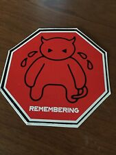 "RADIOHEAD - AMNESIAC ""Crying Minotaur - Remembering"" Sticker"