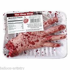 Halloween Horror Chop Shop Meat Market Gruesome Severed HAND Prop Decoration