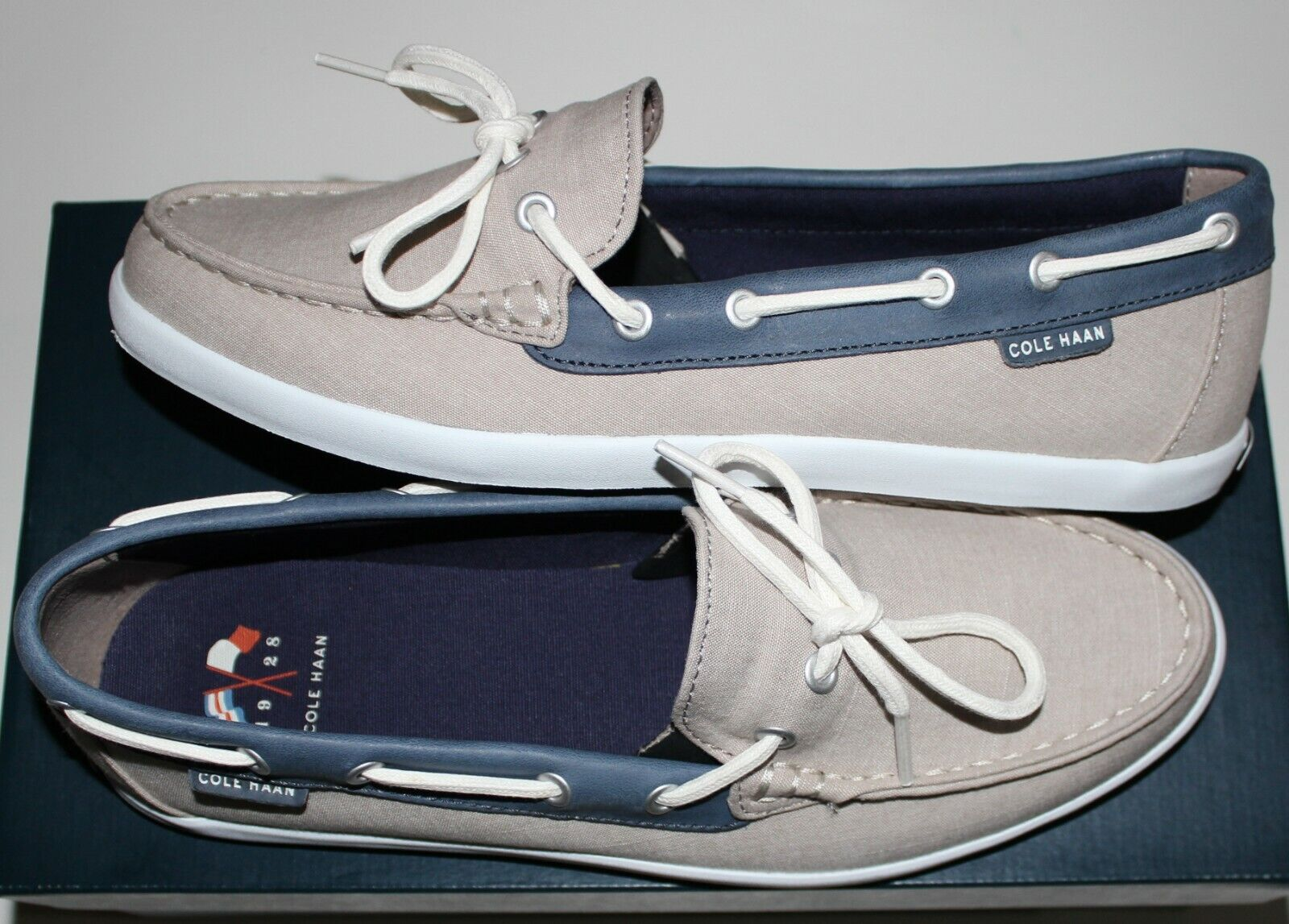 100 COLE HAAN HAAN HAAN NANTUCKET CAMP MOCASSIN US 9 94621f