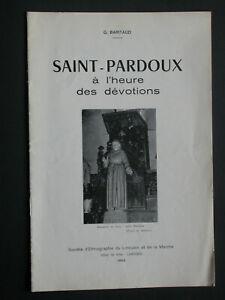 Saint Pardoux à l'heure des dévotions - G. Baritaud - Eglise itinéraire 1965
