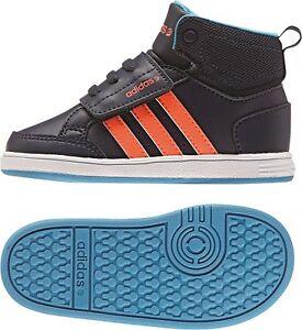 Details zu Adidas NEO Hoops CMF Mid Babyschuhe Kinder Schuhe F98535 versch. Gr.