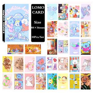 30Pcs-set-KPOP-Bangtan-Boys-BT21-Photo-Card-Poster-Lomo-Card-PhotoCard
