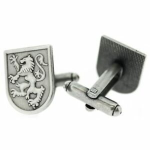Men/'s ortak from Scotland pin and cufflinks set in sterling silver