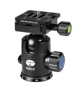 SIRUI-Kugelkopf-G-20KX-mit-Schnellkupplung-Arca-kompatibel