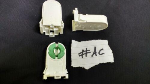 5x G13 Fluorescent Lamp Bulb Holder Push In Fitting G13 FL013 T8 T12 4-58W #AC
