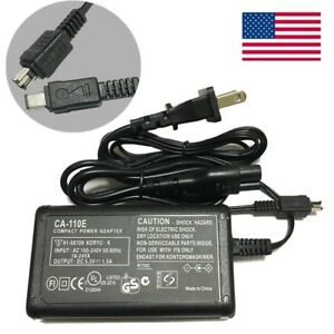 US-Adapter-Battery-Power-Supply-Charger-Cord-For-Canon-VIXIA-HF-R700-Camcorder