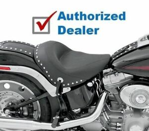 Mustang Vintage Solo Seat w/ Chrome Studded Studs 2000-2006 Harley Softail 75084 Parts & Accessories Seats