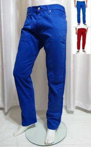 Slim Levis Twill Jeans 29x30 Nouveau droit Fit Couleurs Pantalon Jeans 29x32 514 UqfxA5wqR