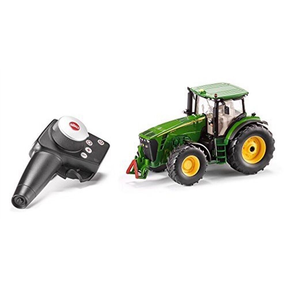 John Deere 8345r Set + Remote Contr - Tractor Siku Rc Control 132 6881 New