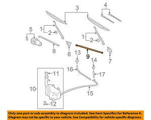 image is loading nissan-oem-98-04-frontier-windshield-wiper-motor-