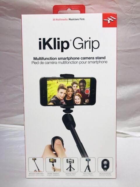iKlip Grip IK Multimedia W/ Bluetooth Shutter - Selfie Stick