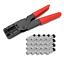 SAT Compression Pince F Compression connecteur 20x connecteur 7-7,5 mm Pince à sertir HD