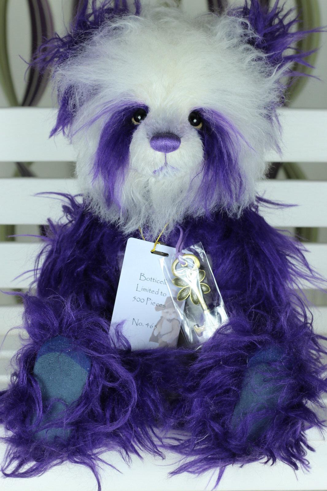 Charlie Bears-BOTTICELLI Di Isabelle Lee L/e 500 Pezzi-Nuovo con etichetta