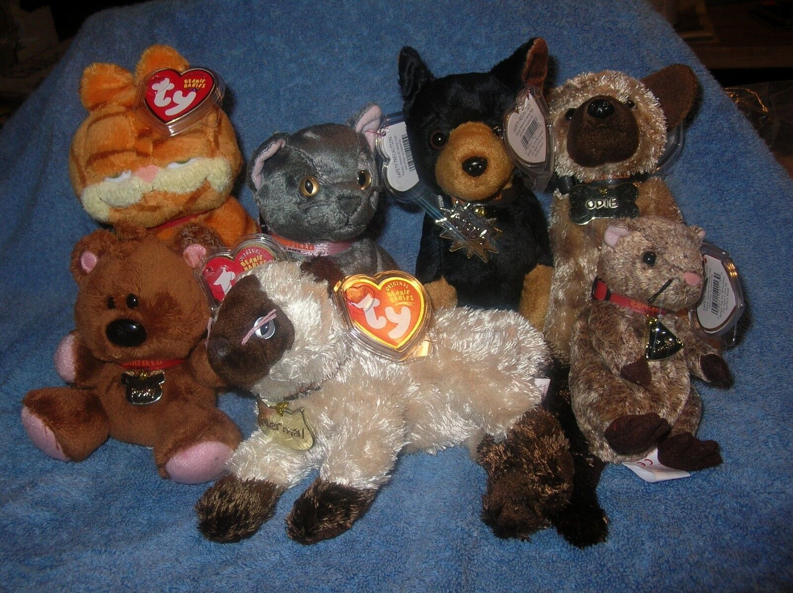 TY Beanie Babies, GARFIELD & Friends (Set of 7)  REDUCE 10%