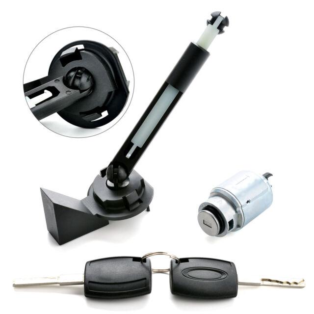 1355231 Bonnet Release Lock Repair Set With 2 Keys Fit Ford Focus MK2 2004-2012