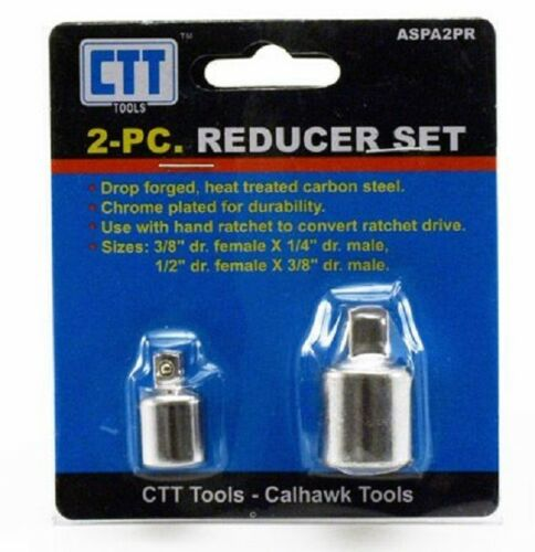 2pc Ratchet Reducers New Hand Tools Sockets Ratchet Adapter Reducer Set ASPA2PR