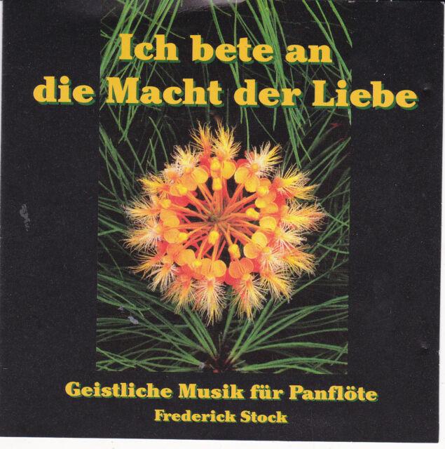 """Klassik CD  """"Ich bete an die Macht der Liebe"""" mit Autogramm (44 - 10/19)"""