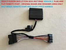 2015-17 F150 14-17 FUSION 15-17 EDGE REMOTE START VER 2 PLUG AND PLAY