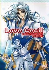 Dissidia Final Fantasy 4 IV 10 X BL Doujinshi Firion x Cecil Tidus Love Cecil