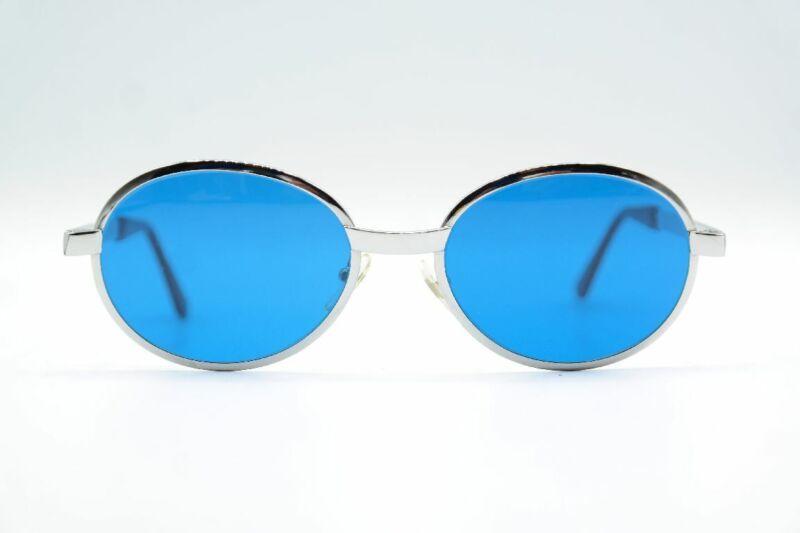 100% QualitäT Vintage Fi Dolly Silber Oval Sonnenbrille Sunglasses Brille Nos Einen Effekt In Richtung Klare Sicht Erzeugen