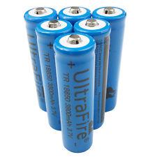 6X 18650 3800mah Li-ion 3.7V Rechargeable Battery for Ultrafire Flashlight