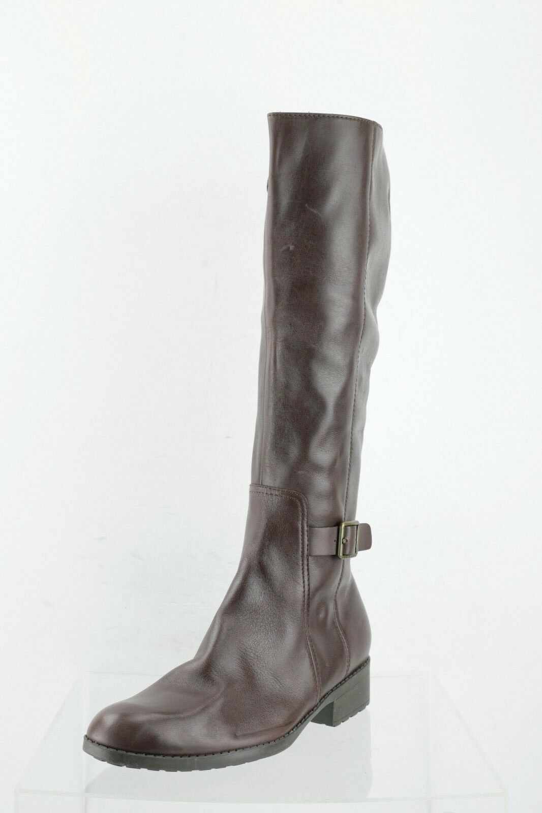 Cole Haan Huntley Chestnut Leather Waterproof Boots Women's Shoes Size 9.5 M NEW