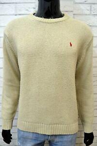 Maglione-Uomo-RALPH-LAUREN-Maglia-Pullover-Taglia-L-Sweater-Man-Cardigan-Top