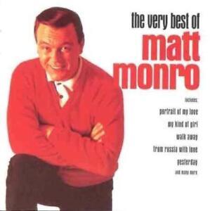 Matt-Monro-Very-Best-Of-Matt-Monro-Greatest-Hits-Collection-NEW-CD