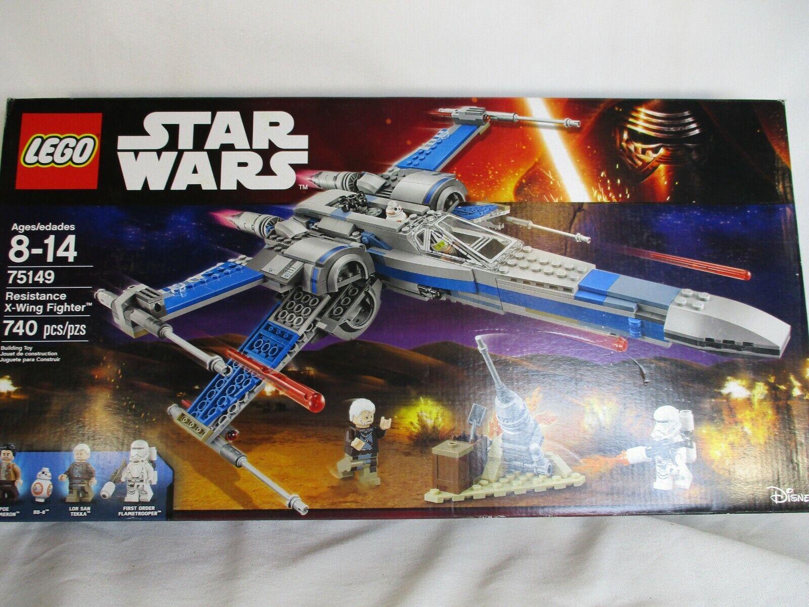 X-MAS LEGO 75149 stjärna VAROR Motståndsrörelsen X-Wing Fighter NY I SEALD BOX