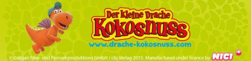 Nici Kinder Kindergarten Rucksack kleiner Drache Kokosnuss TV Kino