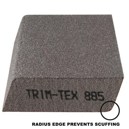 100-Pack Dual Angle Anti-Scuff Drywall Sanding Sponge  Med//Fine Trim-Tex 885