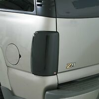 Smoke Tail Light Covers For A 1997 - 1999 Mitsubishi Montero Sport