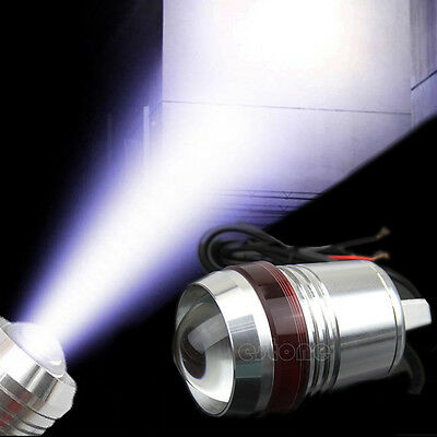 New Motorcycle 12V 30W CREE U2 LED Fog Spot Head Light Waterproof Working Lamp