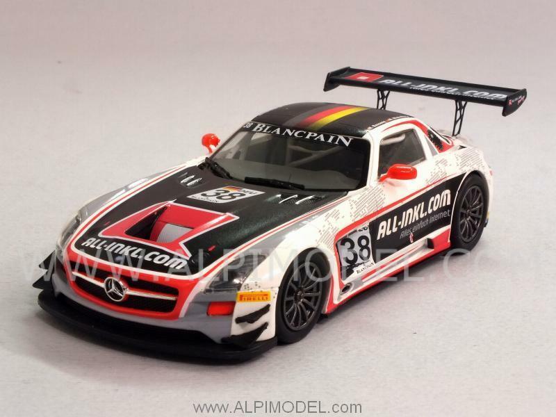 Mercedes SLS AMG GT3 FIA GT1 Winner World Champion 1 43 MINICHAMPS 437123238