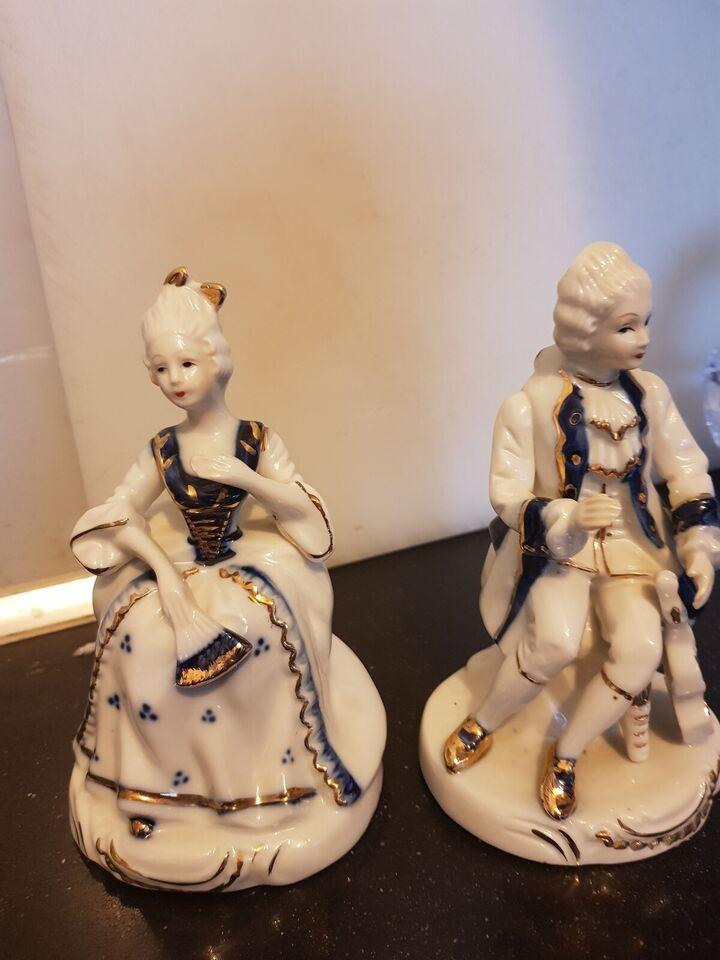 Porcelæn, 2 porcelænsfigurer