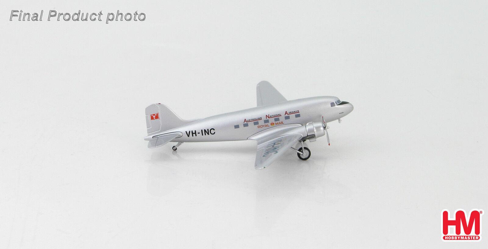 Hobbymaster hl1306 1 200 Douglas C-47 Dakota-Australian National Airways