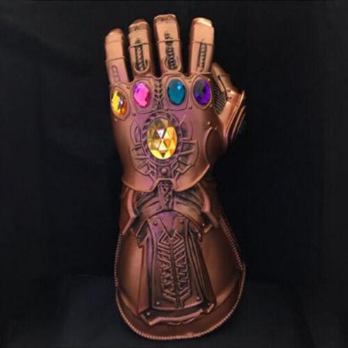 Thanos Infinity Gauntlet Marvel Legends LED Gauntlet Glove Avengers Cosplay Prop