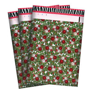 100//200//1000 CT 10 x 13 Mistletoe Premium Waterproof Self Seal Bag Poly Mailer