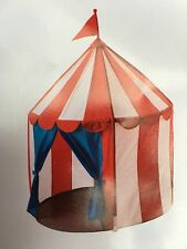 Ikea CIRKUSTALT Childrenu0027s Kidu0027s Childs Circus Play Tent Wendy House ... & IKEA Cirkustalt Mini Play Circus Tent Childs Indoor Wendy ...