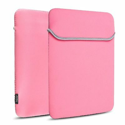 "Pink 13.3"" Notebook Laptop Sleeve Bag Case For Apple Macbook Pro 13-inch"