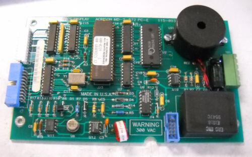 ACRISON GRAPHICS DISPLAY CIRCUIT BOARD MD-II MD-2-572 115-0935