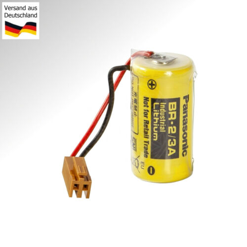 SPS Pufferbatterie für GE Fanuc 90-20 BR-2//3A BR17335 Backup Battery PLC B9712T