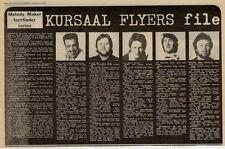 Kursaal Flyers UK Band File