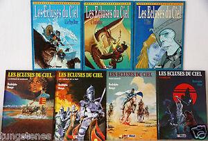 lot-7-Bd-LES-ECLUSES-DU-CIEL-tome-1-a-7-d-039-origine-Rodolphe-Glenat-bande-dessinee