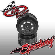 DE Racing Speedway SC Wheels for Associated SC10 / SC5M +3mm (DER-DOS-AB)