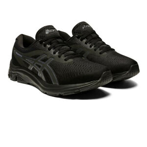 Asics Homme Gel-Pulse 12 Chaussures De Course Baskets Sneakers Noir Sport Respirant