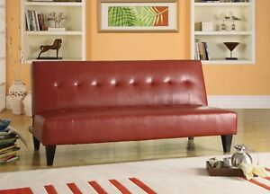 Image Is Loading NEW SLEEK IONA RED OR WHITE BYCAST LEATHER