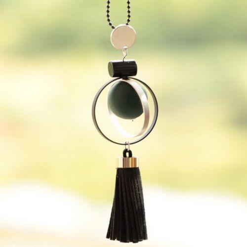 Ethnic Women Handmade Tassel Round Necklace Pendant Sweater Chain Custom Jewelry