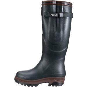 Aigle-PARCOURS-2-ISO-Unisex-Adults-039-Wellington-Boots-7-5UK-Green-Bronze-RRP-190