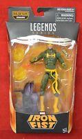 Marvel Legends Iron Fist Build A Figure Sealed